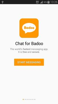 Chat for badoo poster