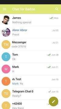 Chat for badoo apk screenshot