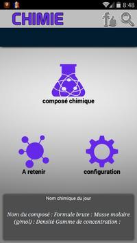 Chimie - Nomenclature poster