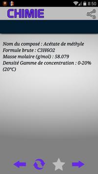 Chimie - Nomenclature apk screenshot