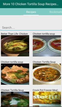 Chicken Tortilla Soup Recipes apk screenshot