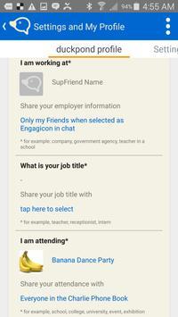 Charlie Social Messenger apk screenshot