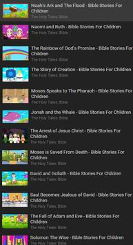Childrens Bible Stories Free poster