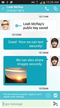 Secure Messenger encrypted SMS apk screenshot