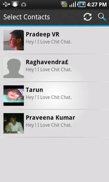 Chit Chat - Free SMS apk screenshot