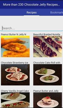 Chocolate Jelly Recipes apk screenshot