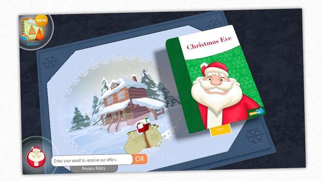 Christmas Eve - Santa's book poster