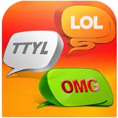 Texting Abbreviations English icon