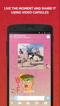 CHOPCHAT Free Chat & Stickers apk screenshot
