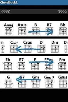 ChordBookk (Guitar Chords) apk screenshot