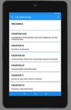 The Constitution of Rwanda apk screenshot