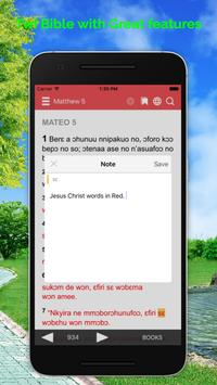 Twi Bible apk screenshot