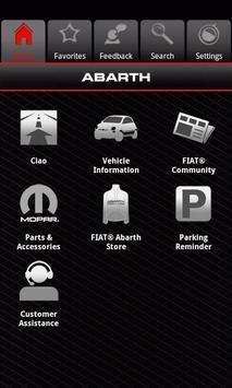 MY FIAT CA apk screenshot