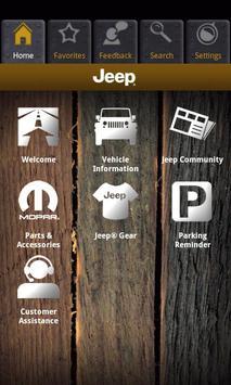 Jeep Vehicle Info CA apk screenshot