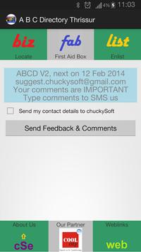 Thrissur ABC Directory V2 apk screenshot