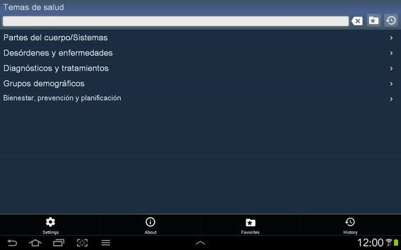 Temas de salud gratis apk screenshot