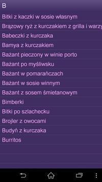 Przepisy z drobiu apk screenshot