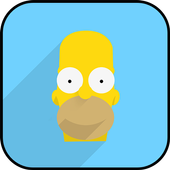 Simpsons Coloring icon