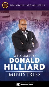 Donald Hilliard Jr. poster