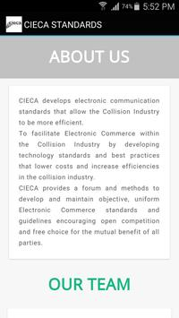 CIECA STANDARDS apk screenshot