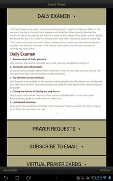 Jesuit Prayer apk screenshot