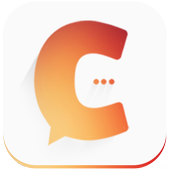 Cinnamon chat & dating on map icon