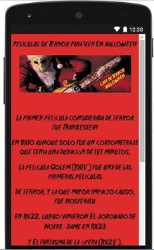 Cine De Terror Hallowen poster