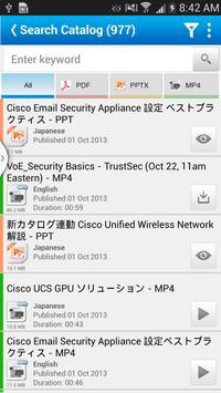 Cisco Partner Education - mPEC apk screenshot