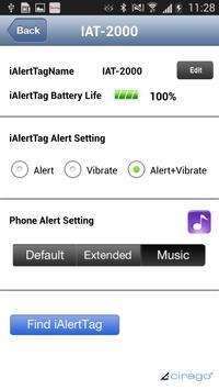 iAlertTag apk screenshot