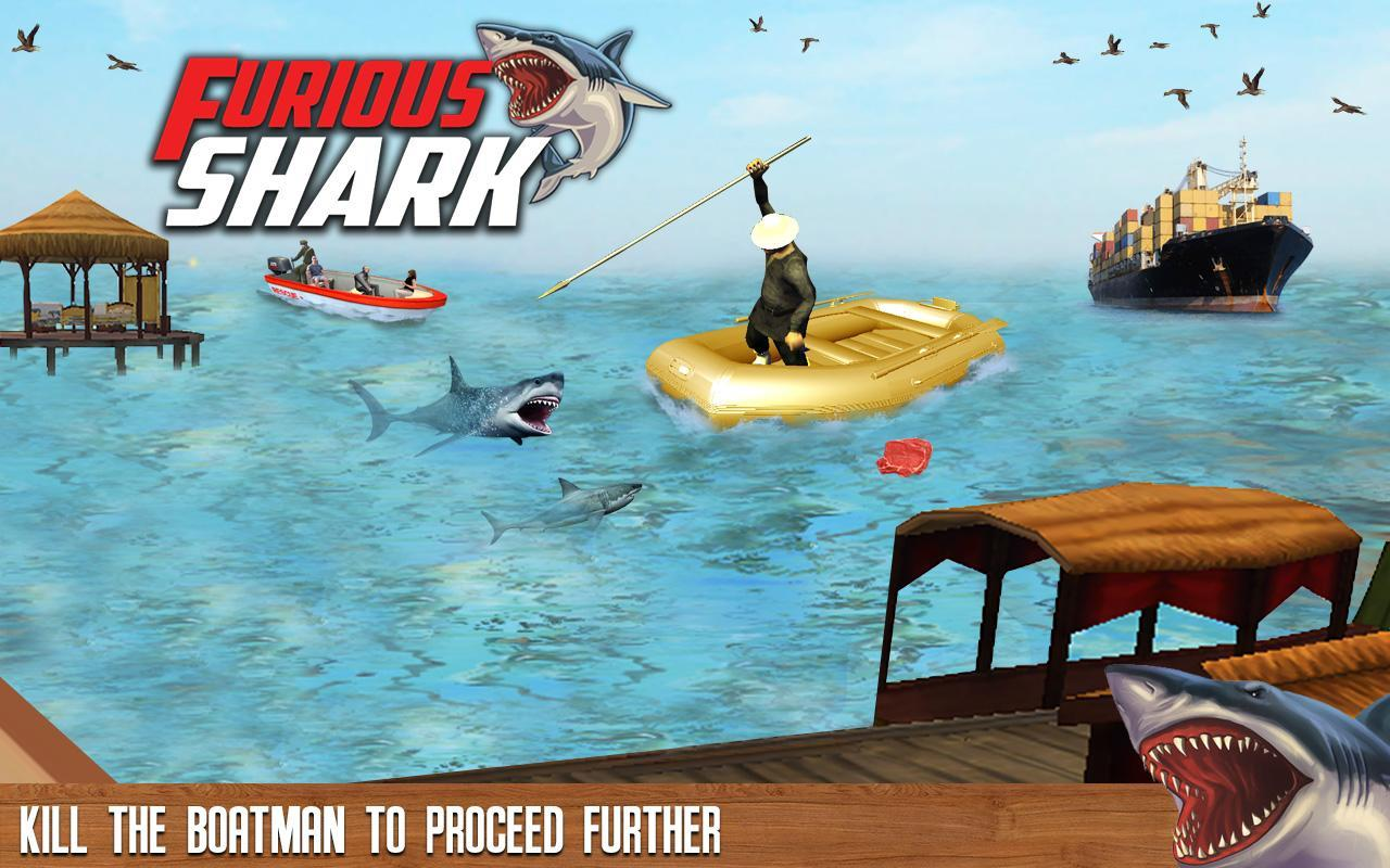 furious shark life simulator apk simulation game furious shark life simulator apk screenshot
