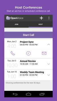 OpenVoice Audio Conferencing apk screenshot