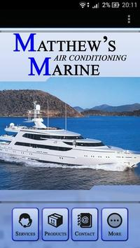 Matthew's Marine Air Con... poster