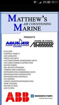Matthew's Marine Air Con... apk screenshot