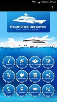 Marine Diesel Specialists poster