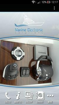 Marine Electronic Solutions poster