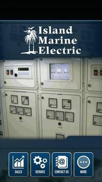 Island Marine Electric poster
