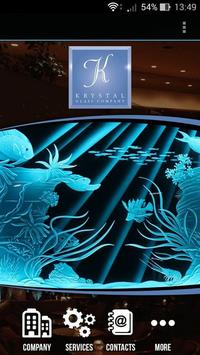 Krystal Glass Company poster