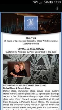 Krystal Glass Company apk screenshot