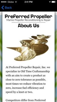 Prefered Propeller Repair, Inc apk screenshot