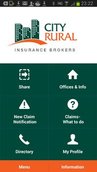 City Rural Insurance Brokers poster