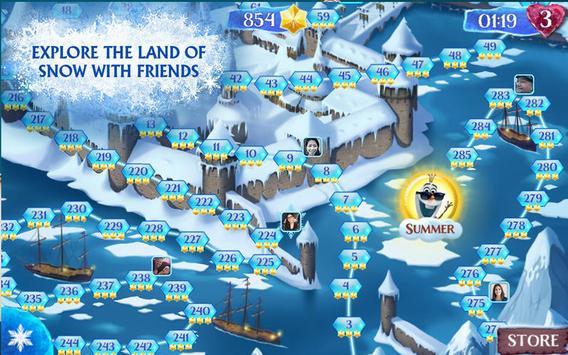 New FROZEN FREE FALL Tricks apk screenshot