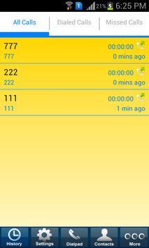 3G Call Platinum Mobile Dialer apk screenshot