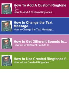 How to Use text messages sound poster