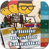 Defining Investing Education icon