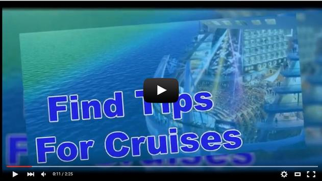 Find Tips For Cruises apk screenshot