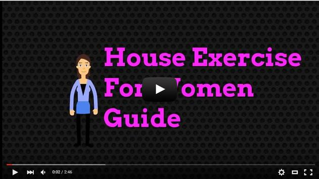 House exercise for women Guide apk screenshot