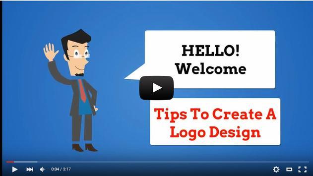 Tips to Create a Logo Design apk screenshot