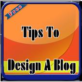 Tips to Design a Blog icon