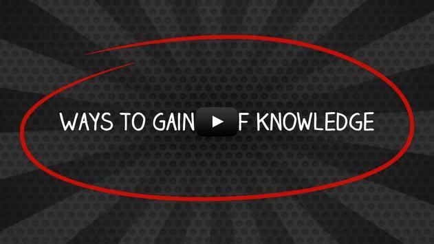 Ways To Gain Self Knowledge apk screenshot