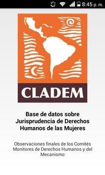 CLADEM Base de Datos Monitoreo apk screenshot
